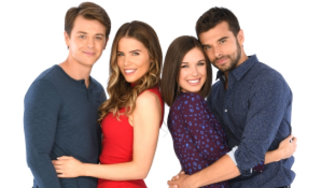 "michael sasha chase willow GENERAL HOSPITAL - The Emmy-winning daytime drama ""General Hospital"" airs Monday-Friday (3:00 p.m. - 4:00 p.m., ET) on the ABC Television Network. GH19(ABC/Todd Wawrychuk)CHAD DUELL, SOFIA MATTSSON, KATELYN MACMULLEN, JOSH SWICKARD"