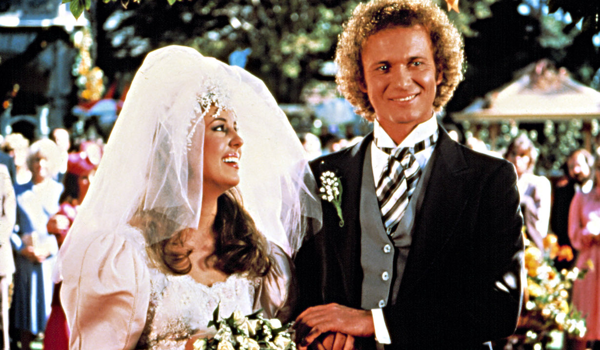 GENERAL HOSPITAL, luke laura wedding 1963-present, Genie Francis, Anthony Geary, in the wedding episode, 11/16-17/81