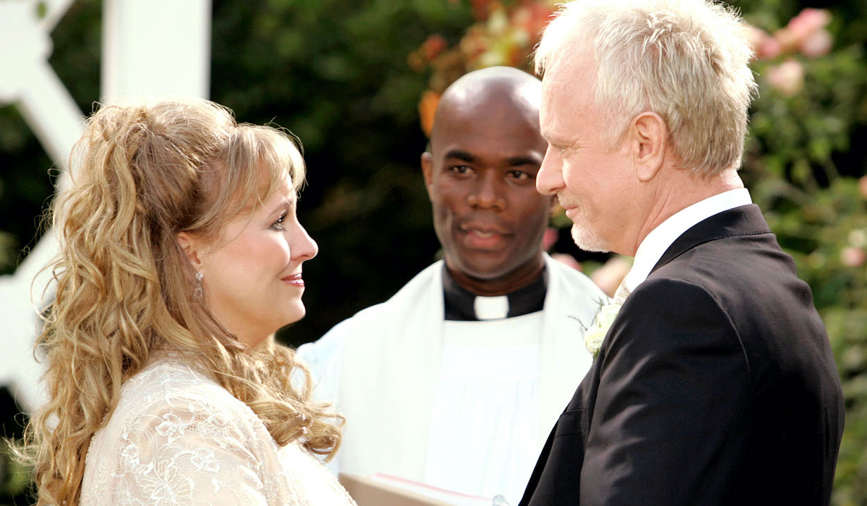 luke laura remarriage sjodin abc ec GENERAL HOSPITAL, Genie Francis, Benjamin Brown, Anthony Geary, (aired November 2006), 1963-,