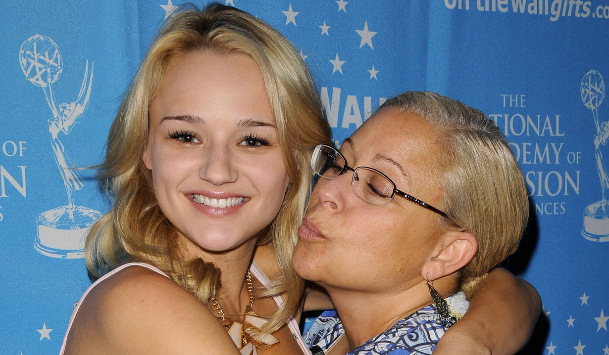 hunter king and mom Y&R