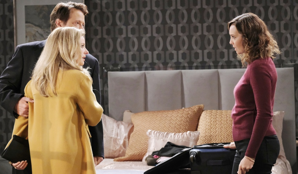 Gwen confesses the truth to Jack and Jennifer on Days of Our Lives