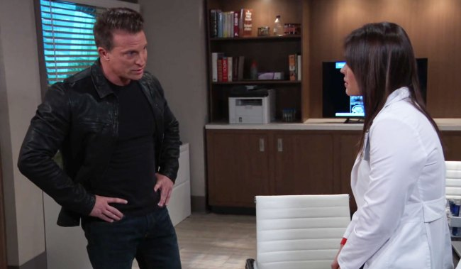 Jason confronts Britt about Peter on GH