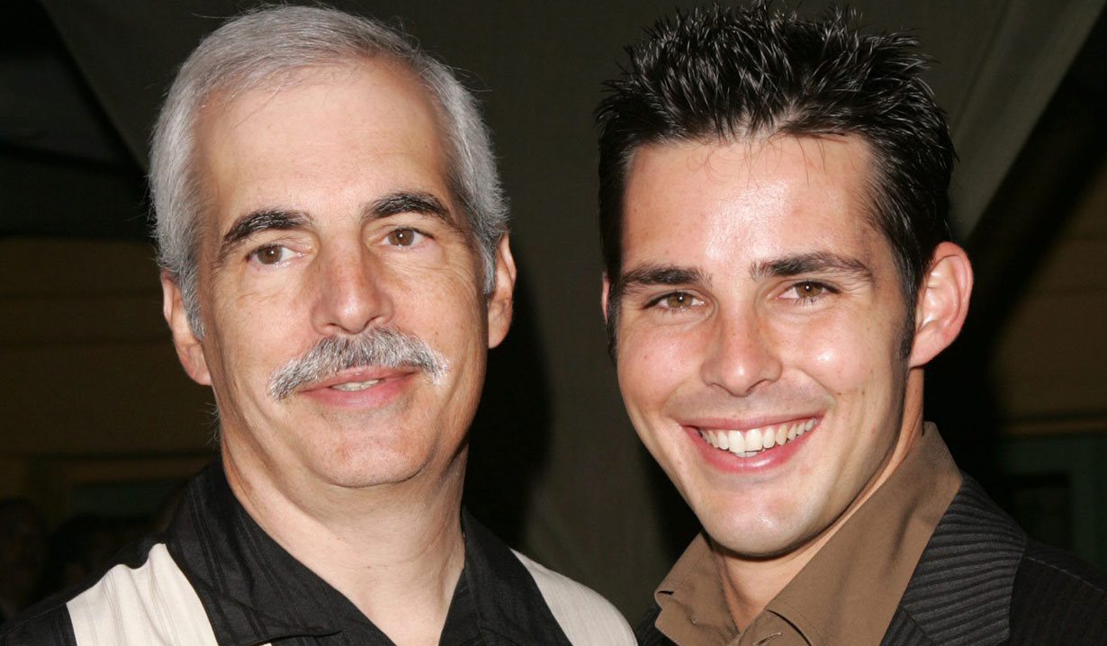 Jason Cook and his dad DAYS