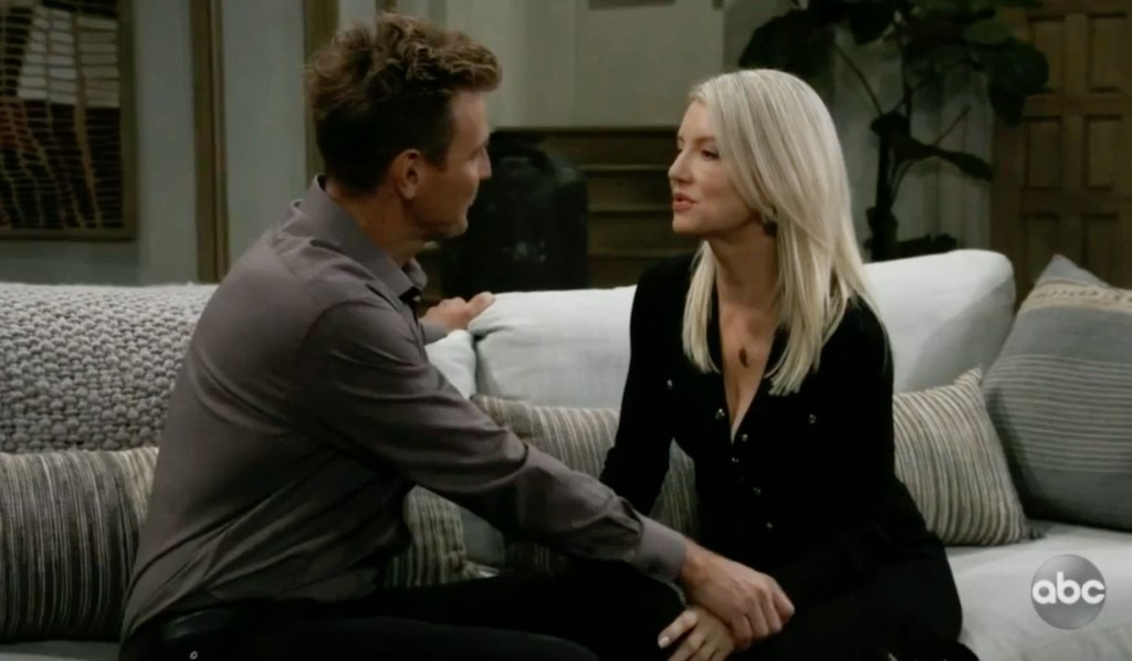 Jax and Nina talk Carly GH