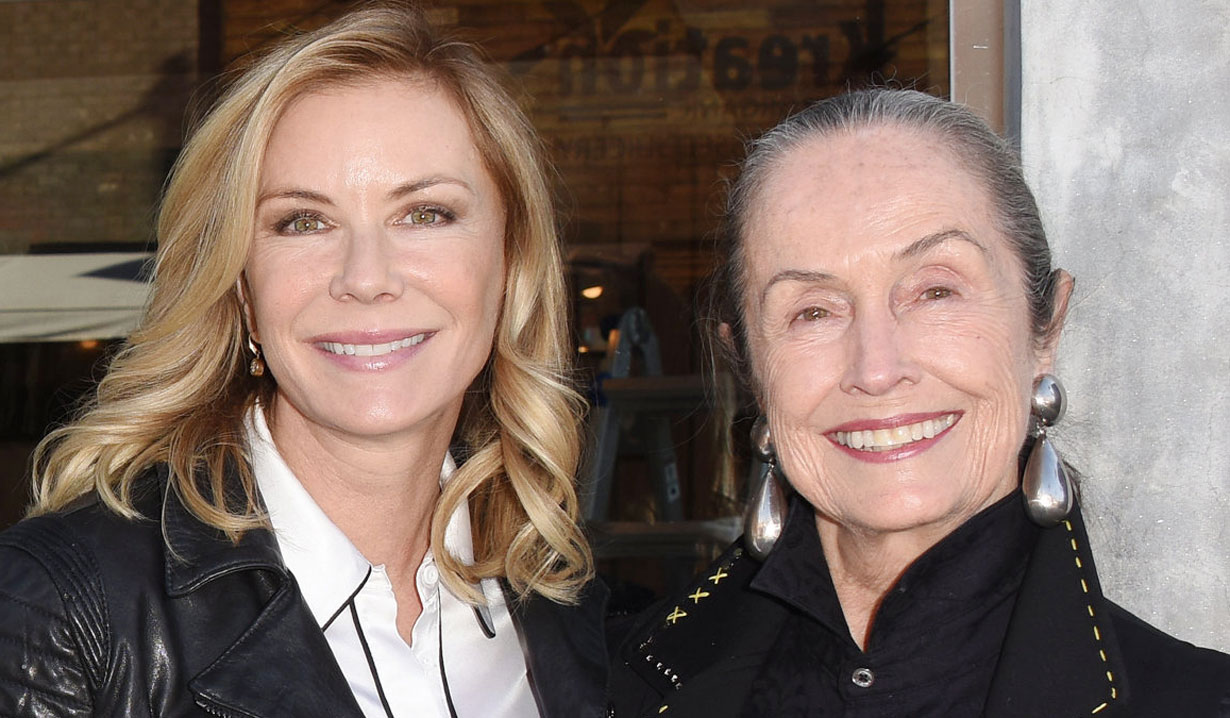 katherine kelly lang and mom B&B