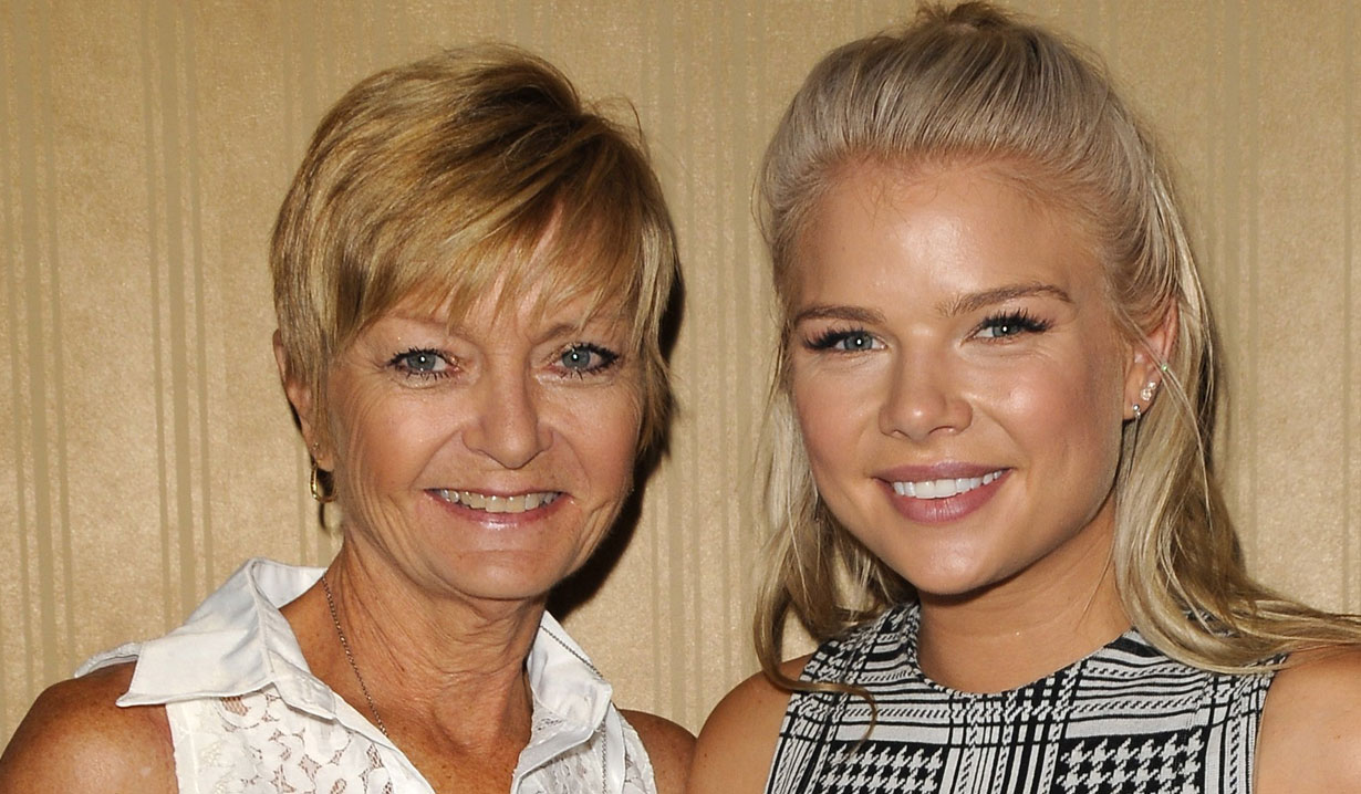 kelli goss and mom Y&R