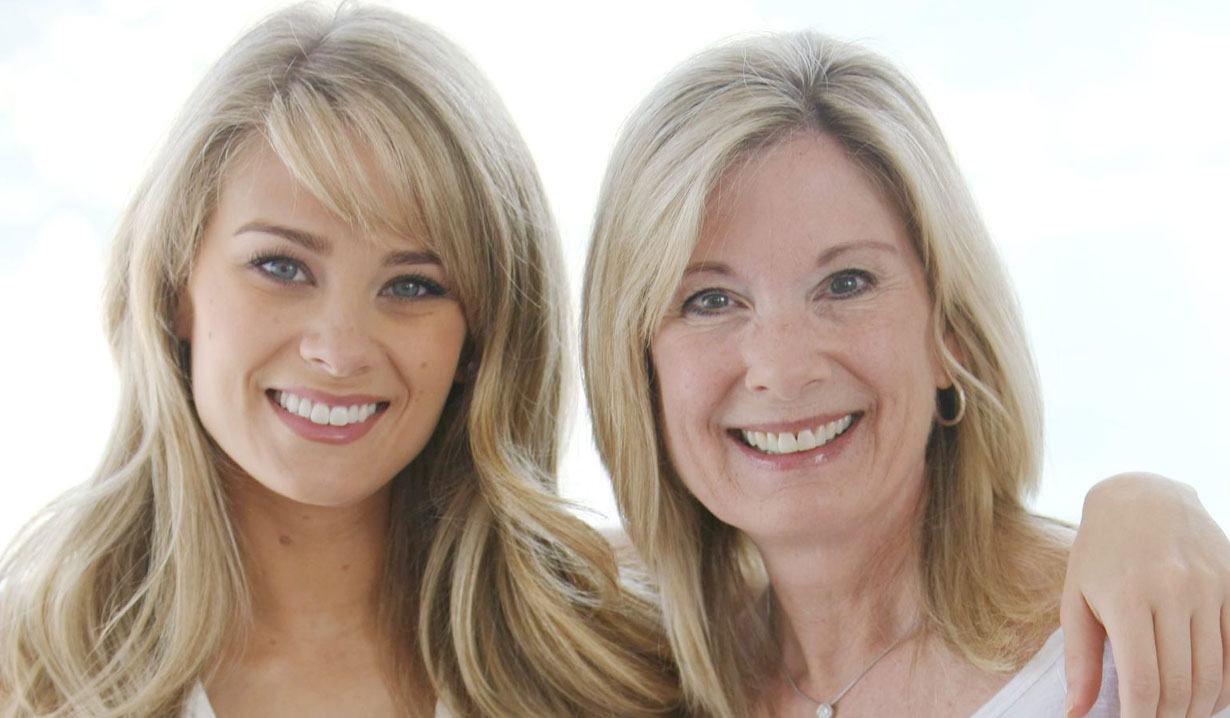 kim matula and mom B&B