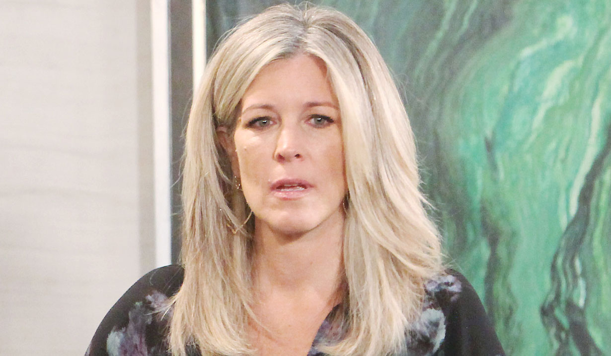 laura confronts carly GH