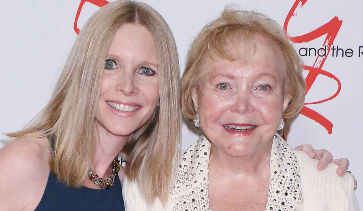 lauralee bell and mom lee phillip bell Y&R