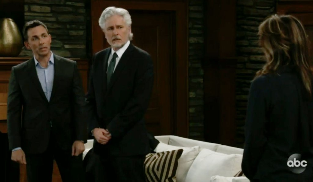 Martin helps Alexis on GH