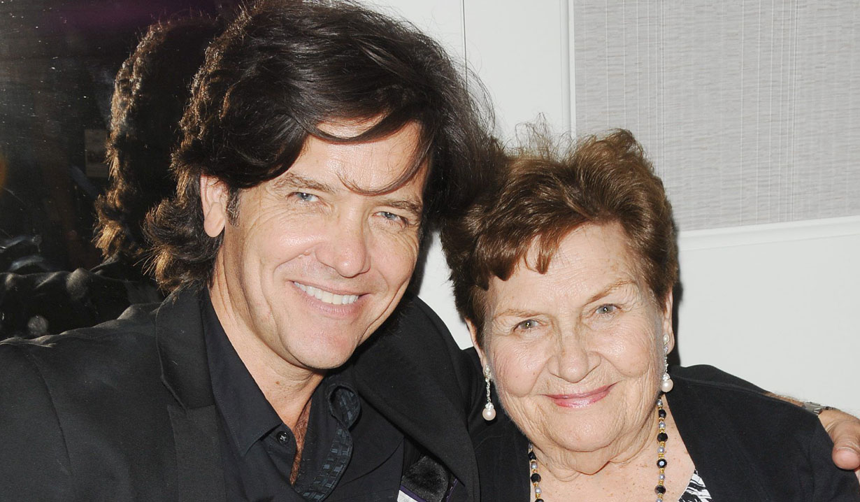 michael damian and mom Y&R