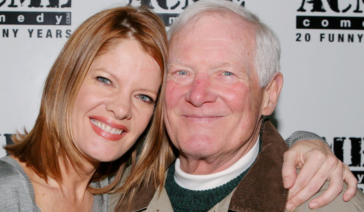 Michelle Stafford and her dad Y&R