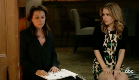 Olivia helps Alexis on GH