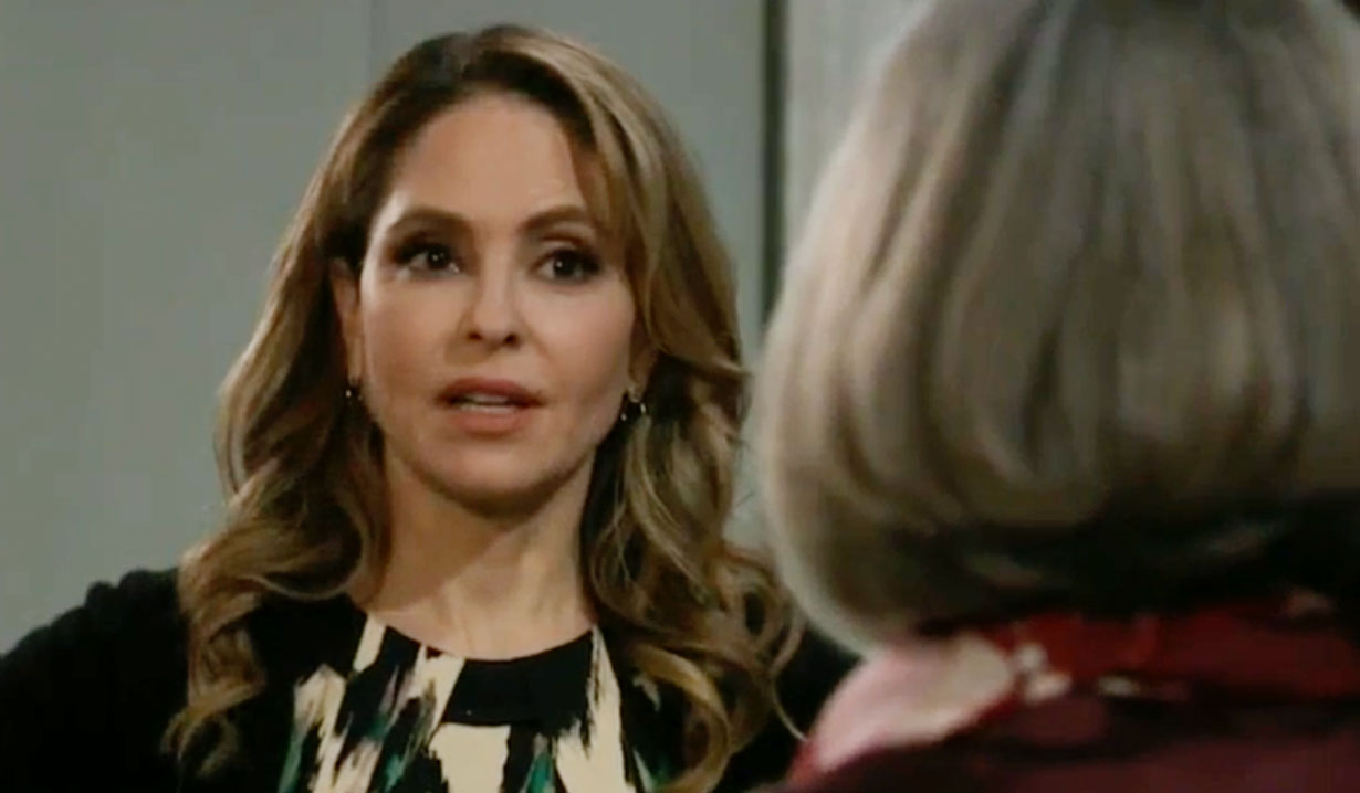 Olivia demand answers from Tracy on GH