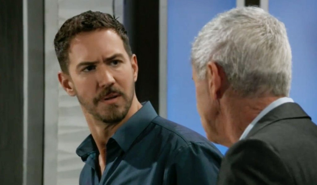 Robert and Peter talk on GH