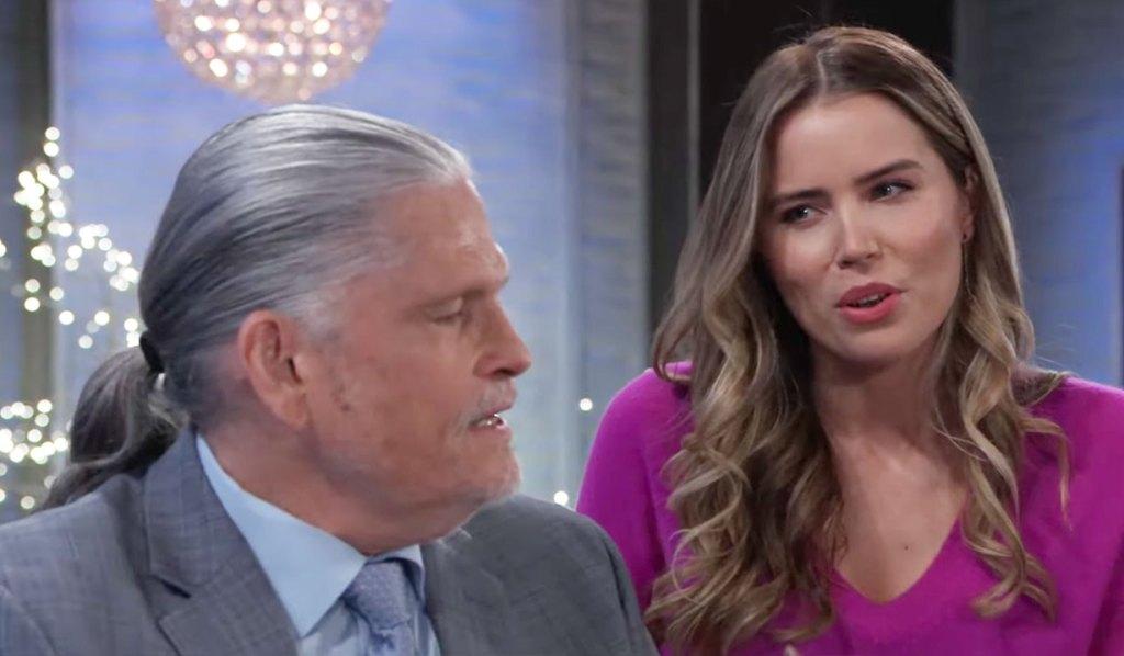 Sasha confronts Cyrus on GH