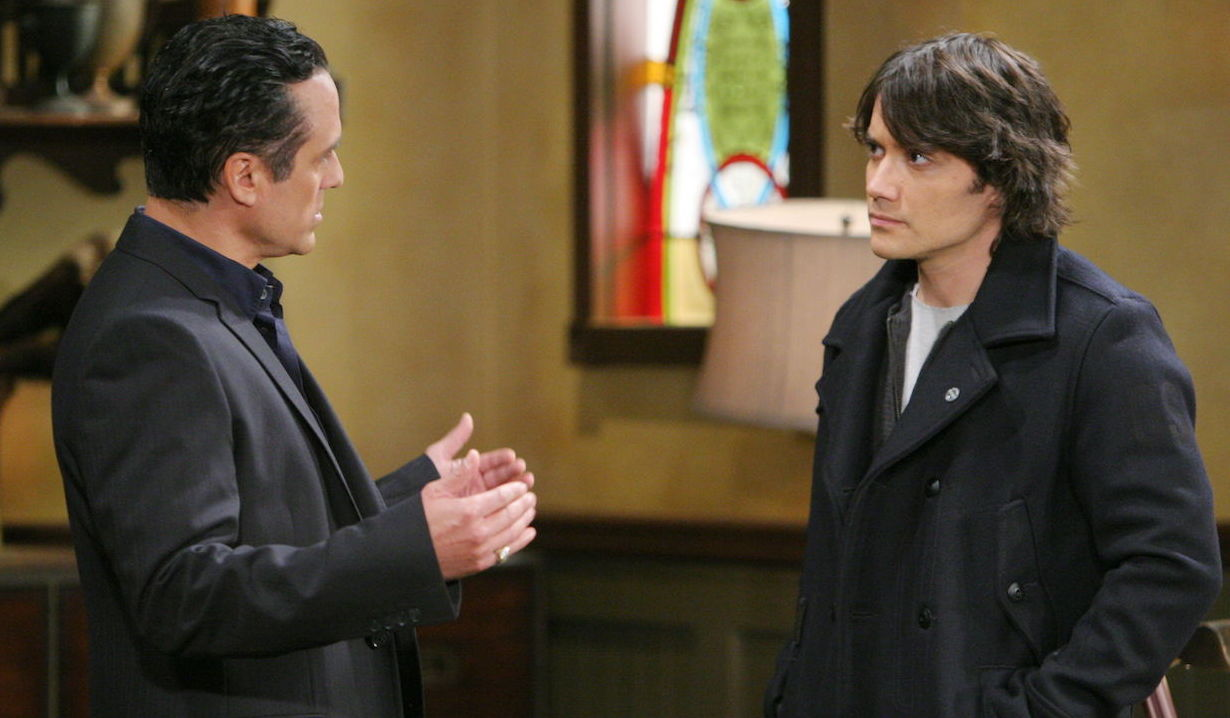 Sonny and Dante on General Hospital