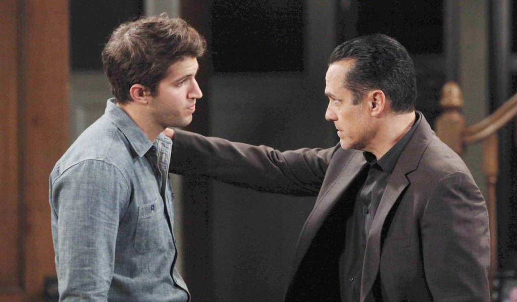 Sonny and Morgan on GH