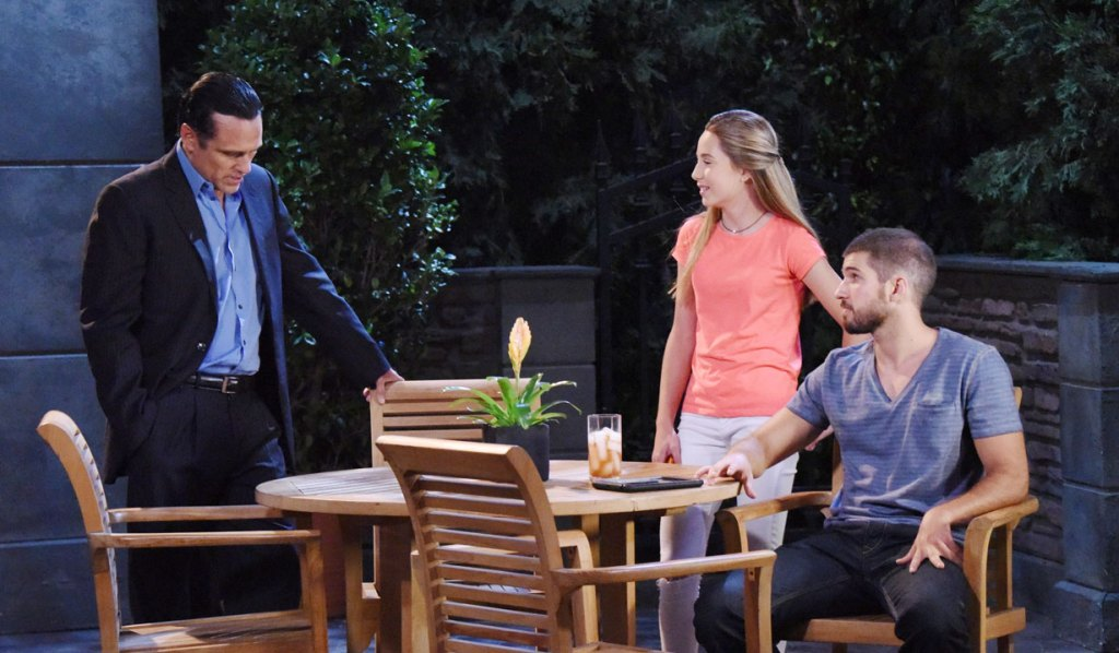 Sonny Morgan and Joss on GH