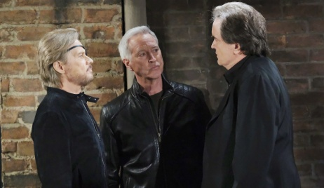 Steve, John, and Angelo on Days of Our Lives