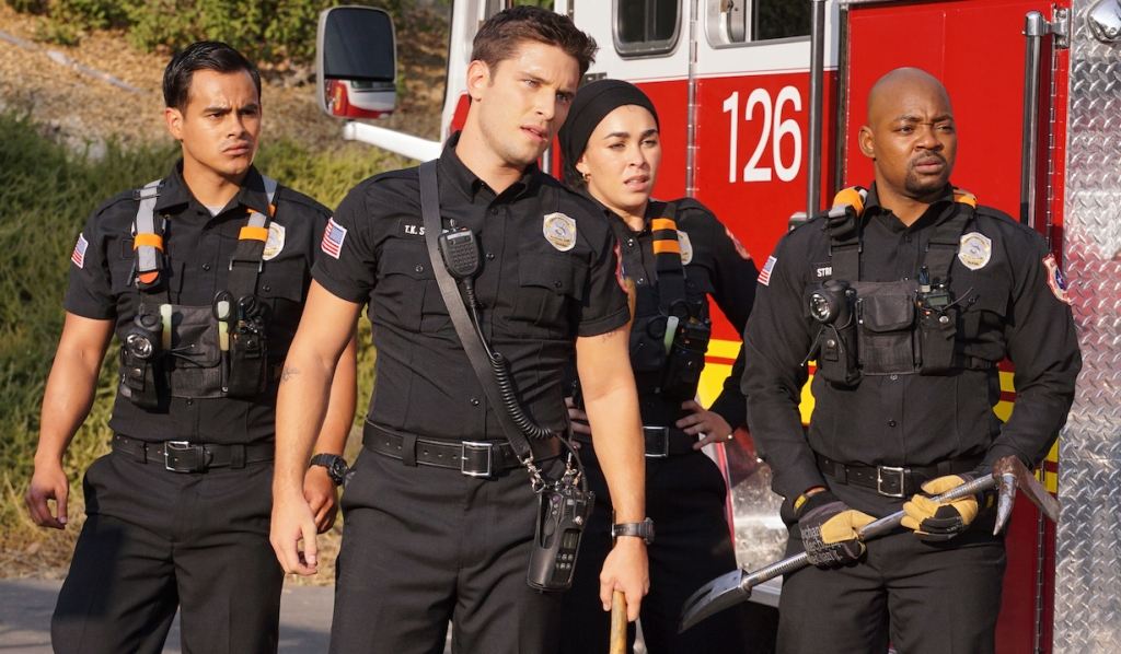9-1-1: Lone Star fire fighters