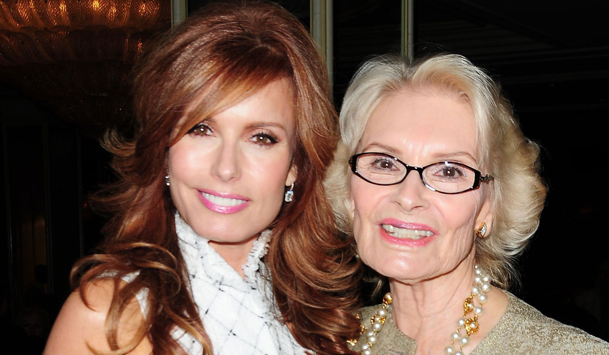 tracey bregman and mom Y&R