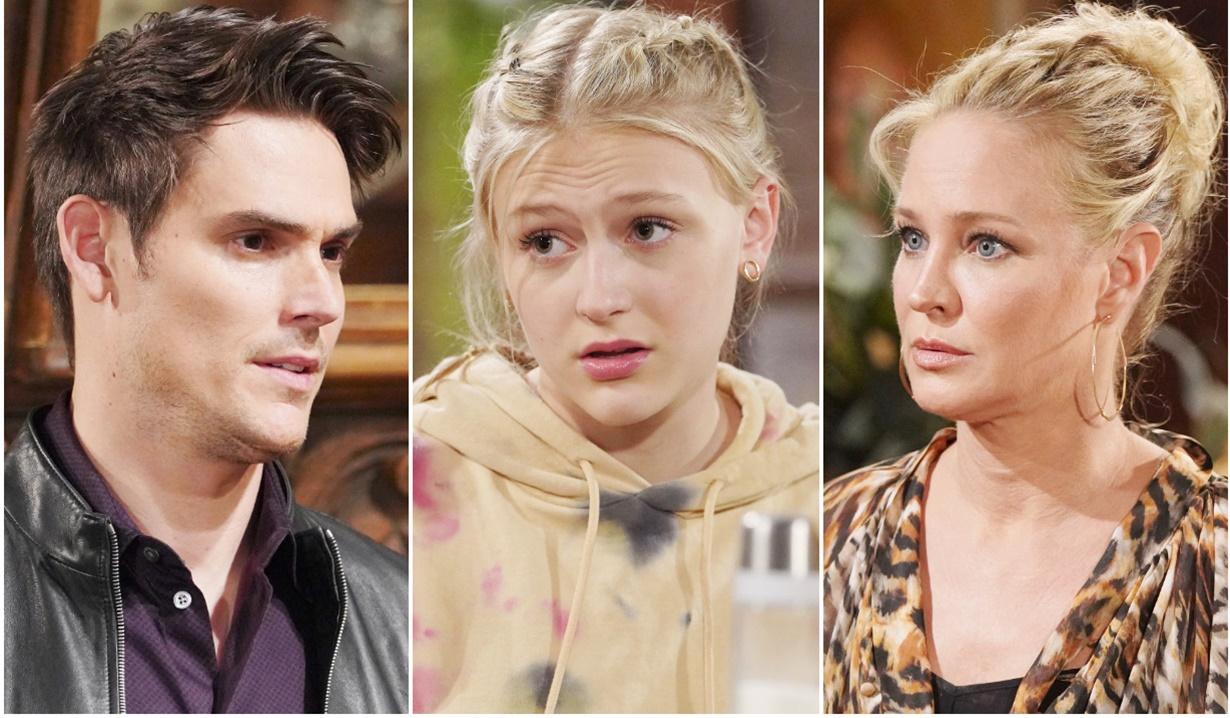 Adam, Faith, Sharon tragedy Y&R