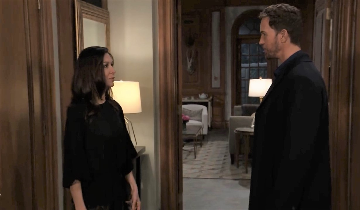 Anna wants truth from Peter at home General Hospital