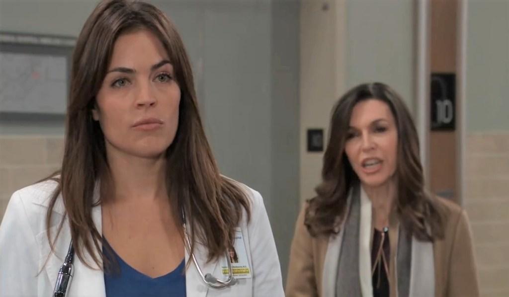 Anna questions Britt at General Hospital