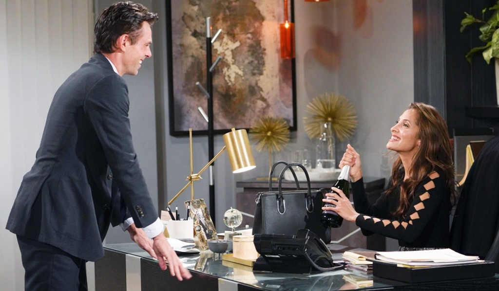 Billy, Lily bubbly Y&R