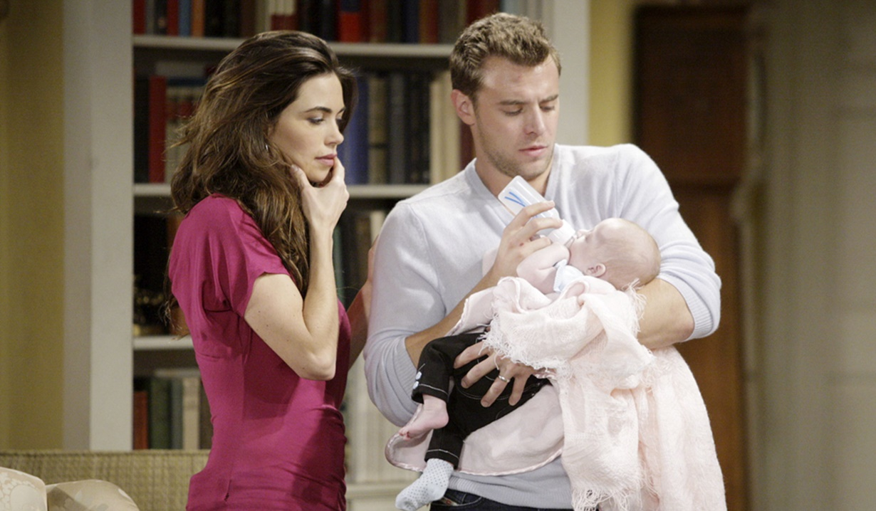 Victoria, Billy, Lucy Y&R