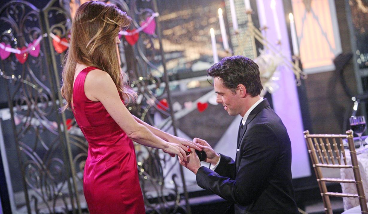 Billy, Victoria Valentine's proposal Y&R