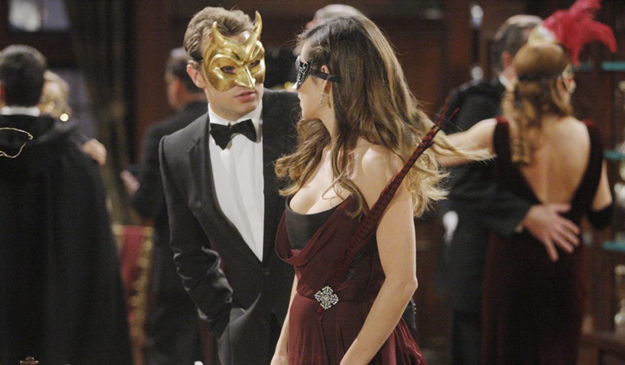 Billy, Victoria masquerade Y&R