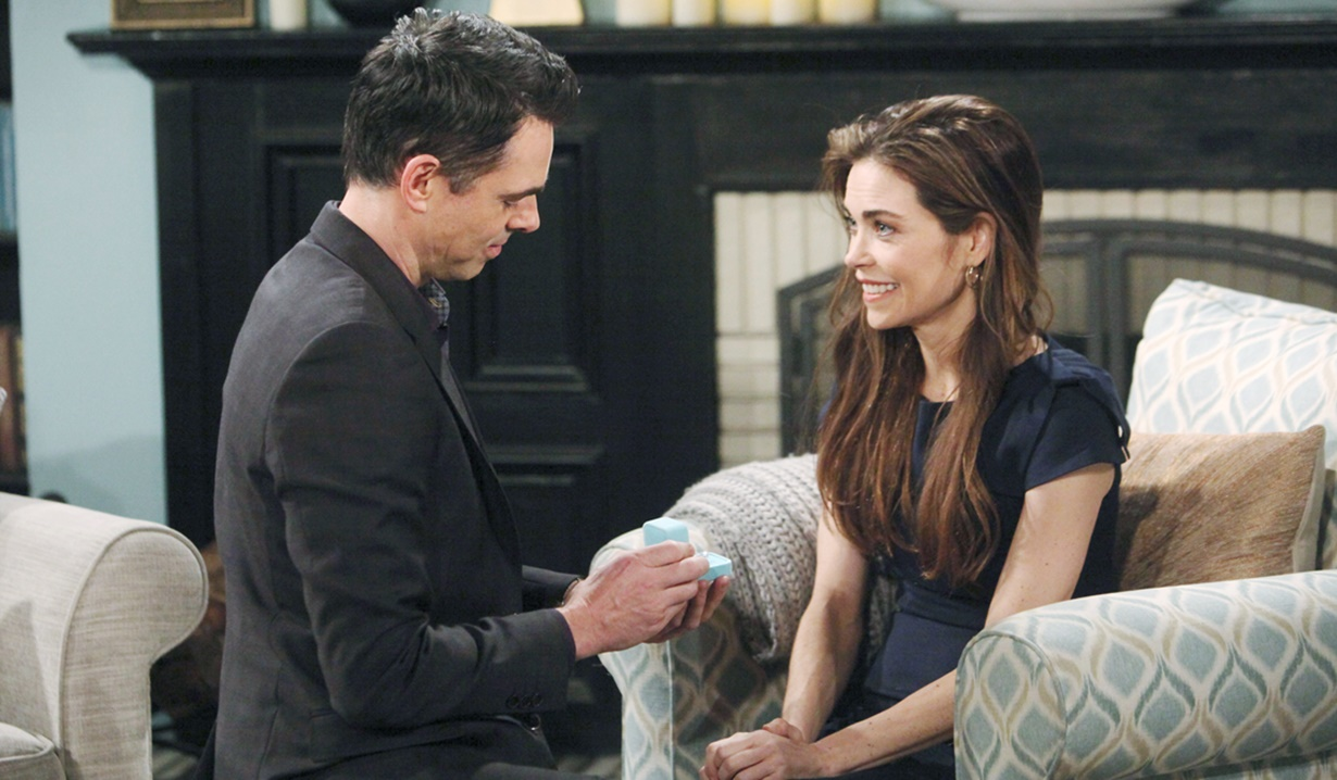 Billy propose third time Victoria Y&R