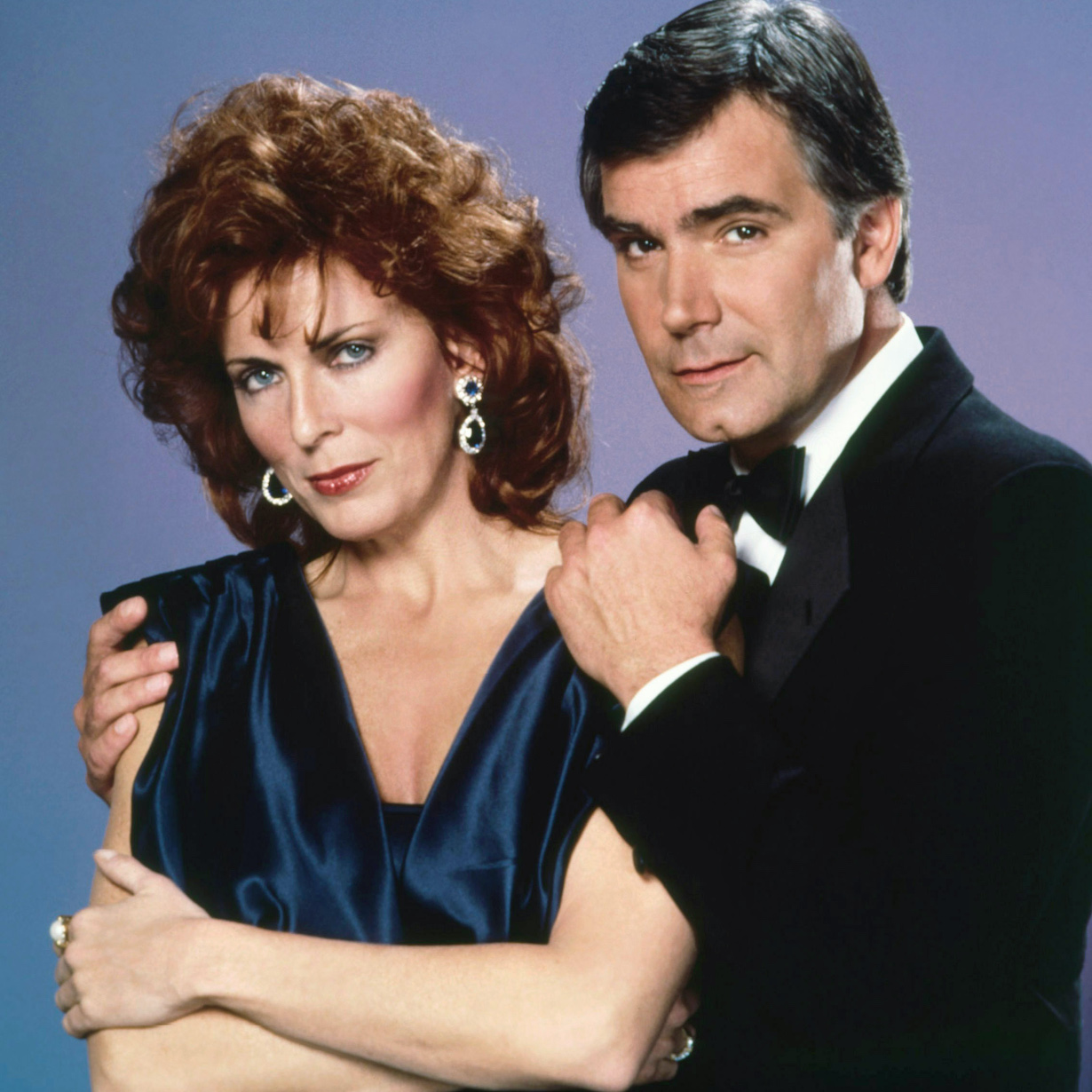CODE NAME: FOXFIRE, from left: Joanna Cassidy, John McCook, 1985, © NBC/courtesy Everett Collection