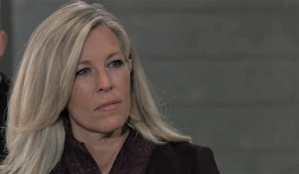 Carly faces Nina in cemetery General Hospital