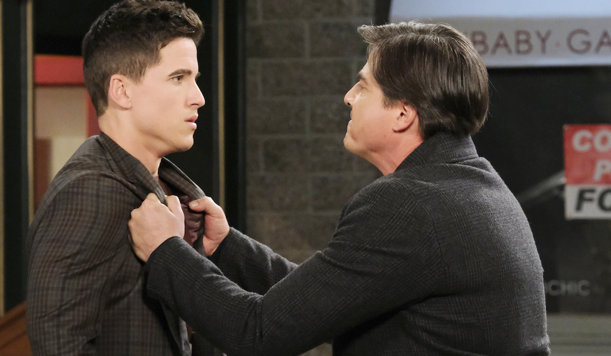 "Mike Manning, Bryan Dattilo ""Days of our Lives"" Set NBC Studios Burbank 12/18/20 © XJJohnson/jpistudios.com 310-657-9661 Episode # 14041 U.S.Airdate 02/15/21"