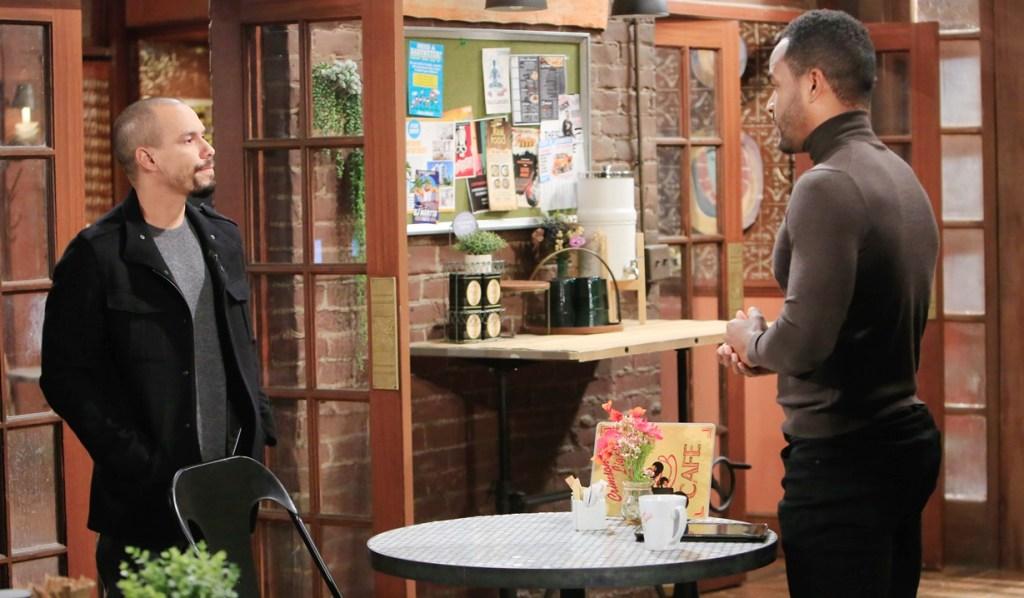 Devon, Nate talk Y&R