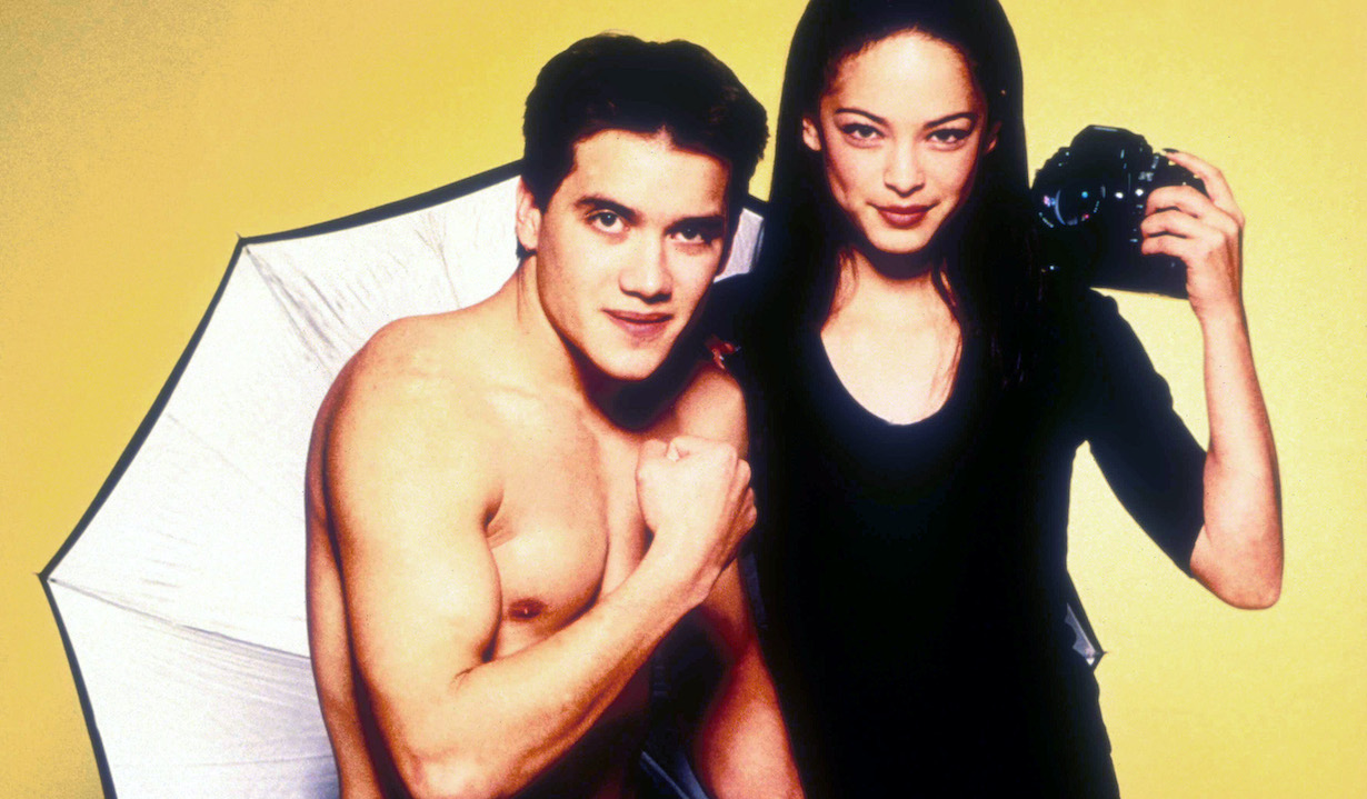 EDGEMONT, Dominic Zamprogna, Kristin Kreuk, January, 2001. TM & Copyright (c) 20th Century Fox Film Corp. All rights reserved. Courtesy: Everett Collection.