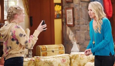 Faith confront Sharon YR