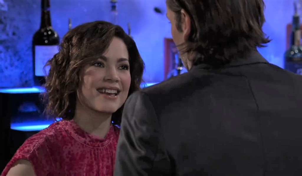 Franco and Liz go out for anniversary dinner General Hospital