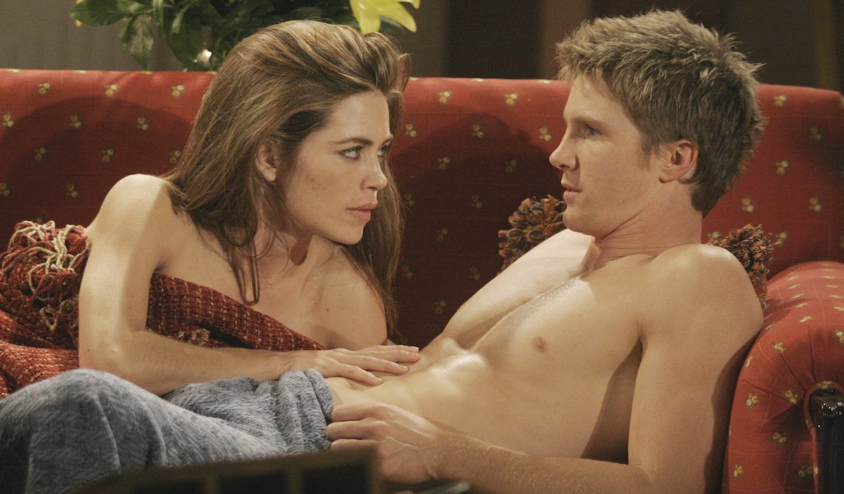 "Amelia Heinle, Thad Luckinbill ""The Young and the Restless"" victoria jt sex bl"