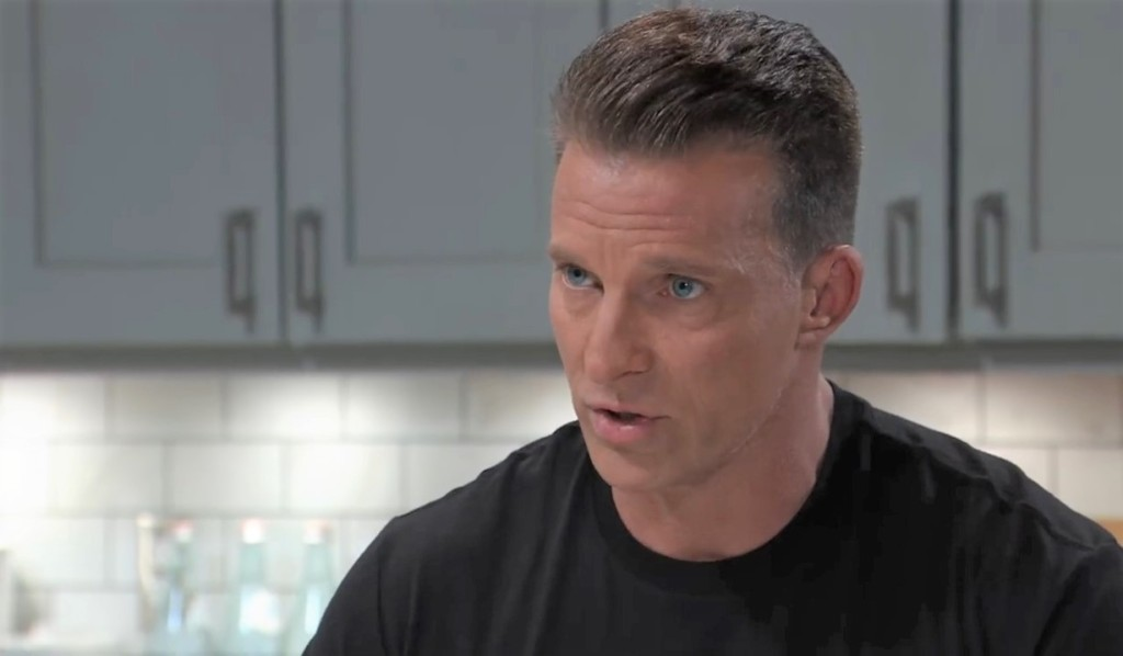 Jason wants to use Cyrus' fear as leverage in Corinthos kitchen General Hospital