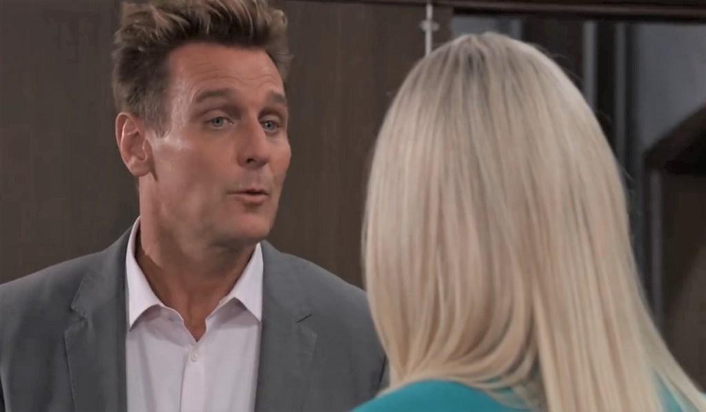 Jax apologizes to Nina at Crimson General Hospital