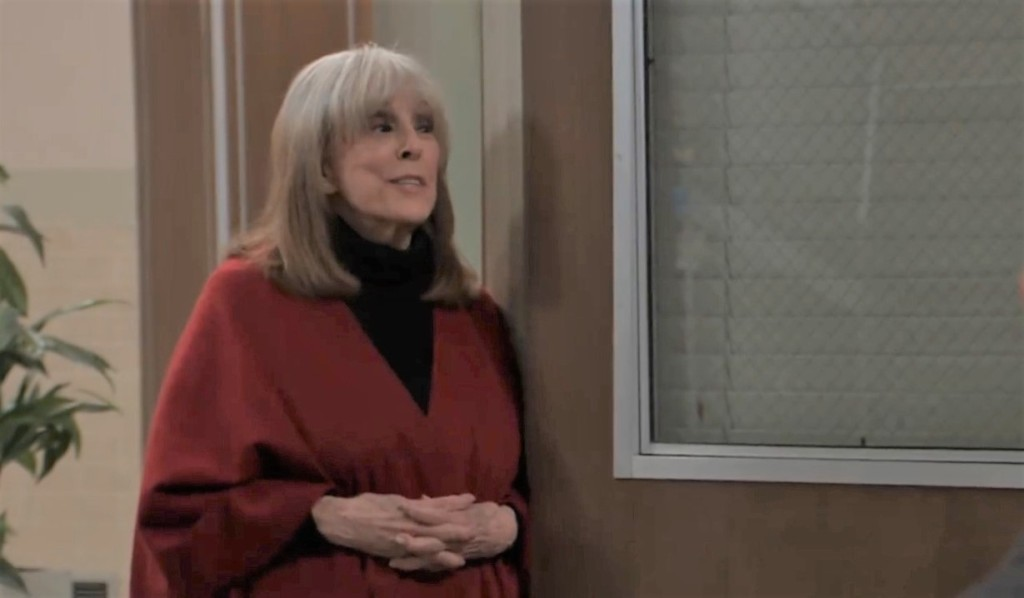 Leslie objects to Cyrus' plan at General Hospital