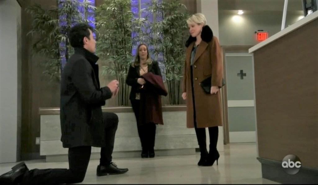 Nikolas proposes to Ava at General Hospital