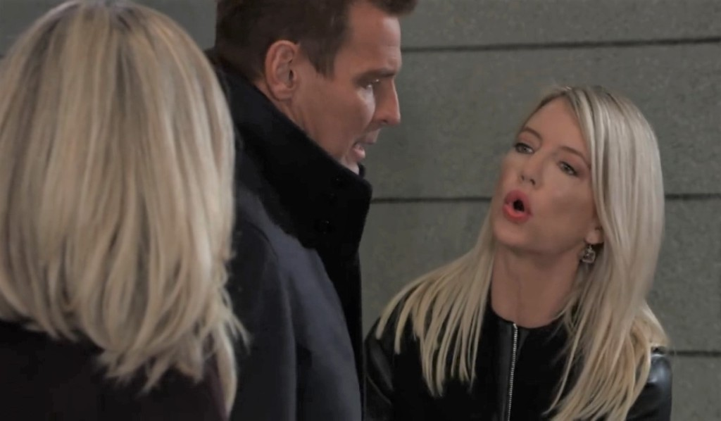 Nina confronts Jax and Carly in cemetery General Hospital