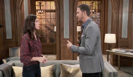 Anna facing the truth about Peter on GH
