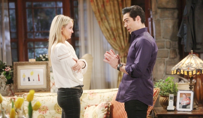 Rey gives Sharon ultimatum about Adam at home Y&R