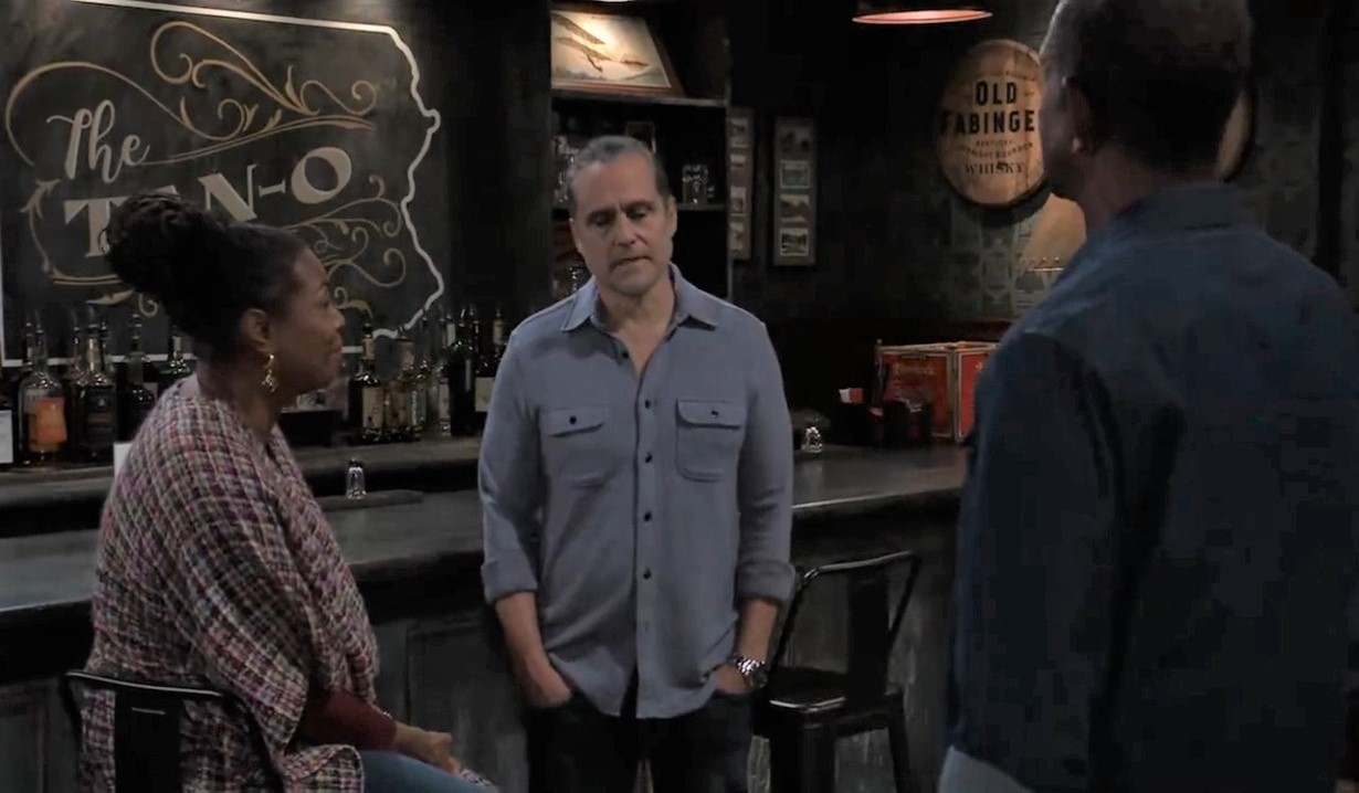 Sonny agrees to stay at Tan-o's General Hospital